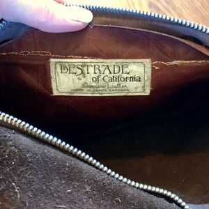 Lestrade of California Bags - Casual vintage Leather Clutch